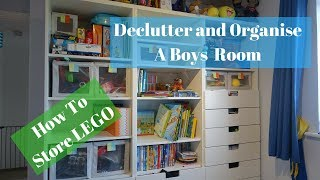 Declutter and Minimise Toys | New Years Toy Clearout | Lego Storage Ideas
