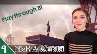 Playthrough B! | NieR Automata Pt. 9 | Marz Plays