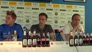 1. FC Saarbrücken - SV Elversberg| Pressekonferenz vor dem Spiel 34. Spieltag 16/17