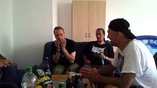 NWOBHM band JAGUAR interviewed by Bob Nalbandian from Shockwaves Podcast/VideoCast at the 2012 HOA