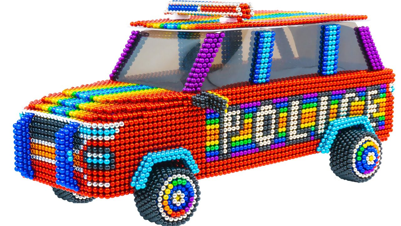 DIY - Build Amazing SUV Police Car For My Pets From Magnetic Balls ( Satisfying )| Magnet Satisfying