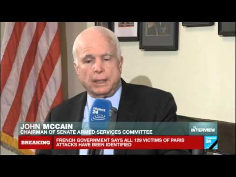 "Exclusive interview with John McCain: ""Putin's ambition is to keep Assad or a stooge in power"""