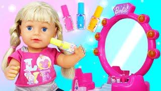 Маникюр для Беби Бон Школа стилиста Видео для девочек про макияж прически и косметику