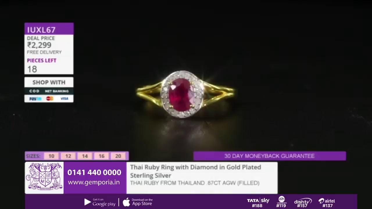 1fc2e1deb Shop Affordable Jewellery LIVE With Gemporia TV - 17th November - YouTube