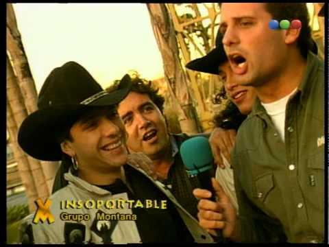 El Insoportable con GRUPO MONTANA - VideoMatch 1997