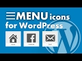 How To Add Menu Icons to your WordPress Site In Under 3 Minutes 🏠