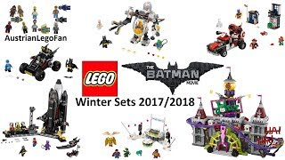 All Lego Batman Movie Winter Sets 2017 / 2018 - Lego Speed Build Review