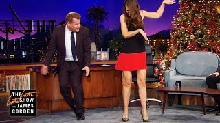 Katie Holmes Has Her Childhood Christmas Tap Dance Memorized