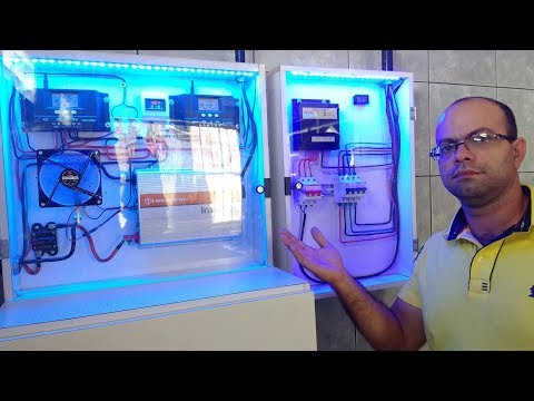 Energia solar off grid Luciano Couto