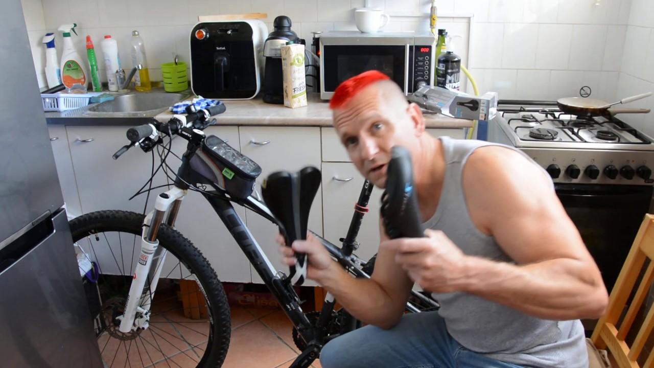 Kerékpár prosztata vagy, Nyereg választás prosztatagyulladás esetén