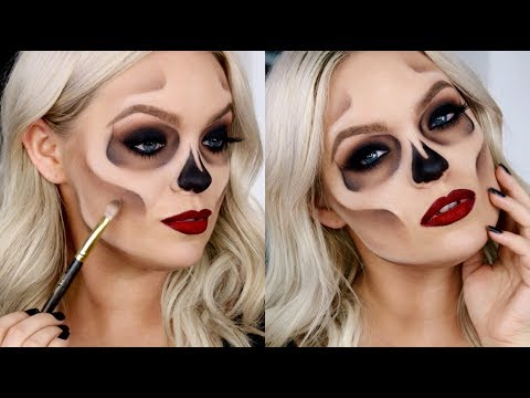 HOW TO: Easy Skull Makeup