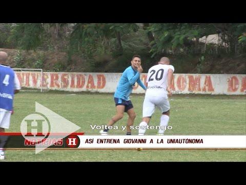 Así entrena Giovanni Hernández a la Uniautónoma FC | Noticias H | EL HERALDO