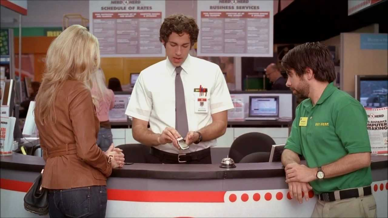 Download Chuck S01E01 | The first meeting of Chuck and Sarah [Full HD]