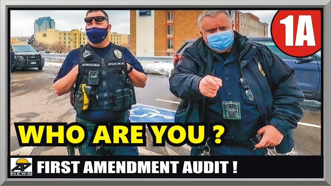 SARGE CALLS ME OUT !! - COLORADO GREENWOOD VILLAGE POLICE - First Amendment Audit - Amagansett Press