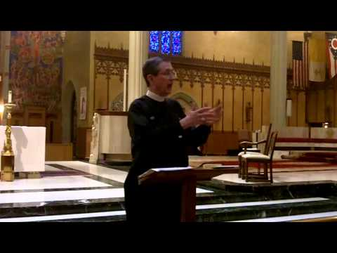 Bishop's Lunchtime Lecture on The Holy Eucharist (Part 1) - June 17, 2014