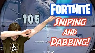 Fortnite Dabbing and Sniping - Live Right Now - FREE SHOUT OUTS!