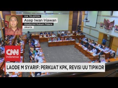 Laode M Syarif: Perkuat KPK, Revisi UU Tipikor
