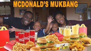 MCDONALDS FAMILY MUKBANG | BEAST MODE