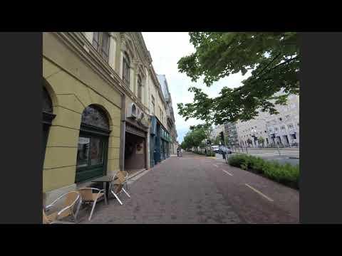My way to work in Debrecen