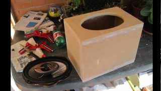 Building Up 6x9's Speaker Box - Car Audio System At Home Making Of