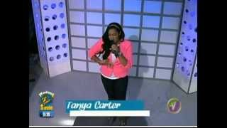 Tanya Carter Performance on TVJ Weekend Smile