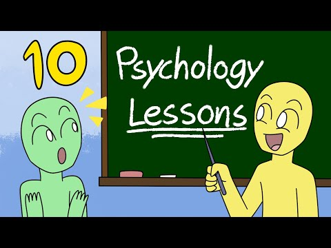 10 Psychology Lessons Not Taught In School