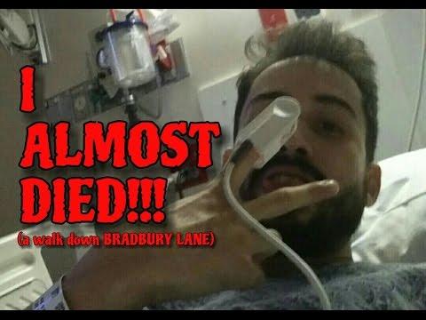 I ALMOST DIED!!! a walk down BRADBURY LANE