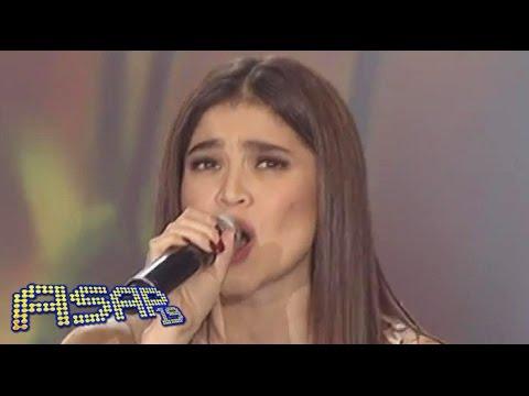 Anne Curtis sings 'Bakit Ngayon Ka Lang & Just Give Me A Reason' on ASAP