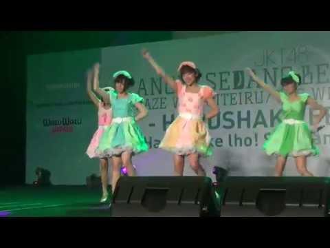 [FanCam] 4 Gulali - Jibun Rashisa (JKT48 Handshake Festival 8th - Kaze wa Fuiteiru)