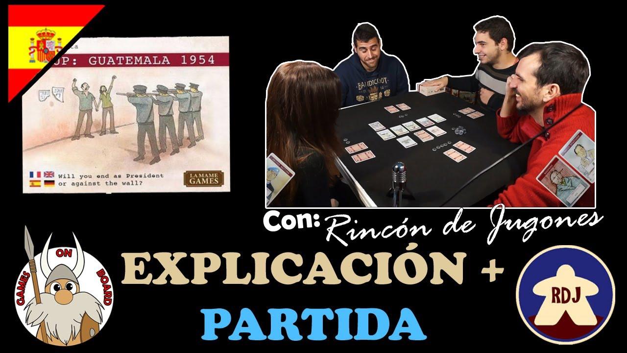 Como Jugar A Coup Guatemala 1954 Explicacion Y Gameplay Espanol