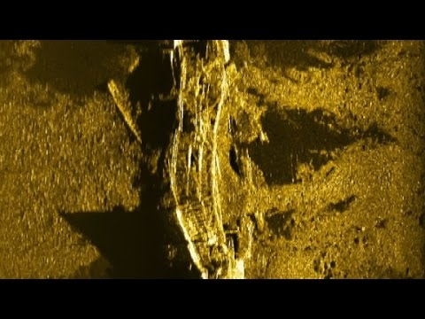 MH370 searchers find uncharted shipwreck