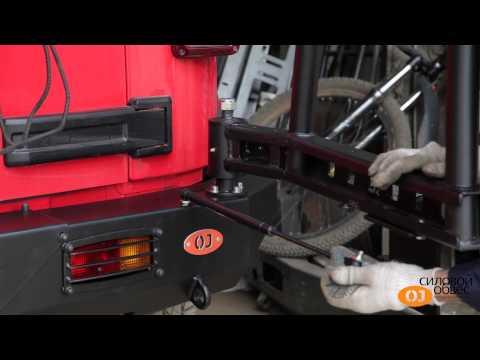 Установка калитки на силовой бампер OJ.