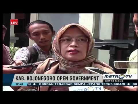 Bojonegoro - Pelopor Open Government di Indonesia