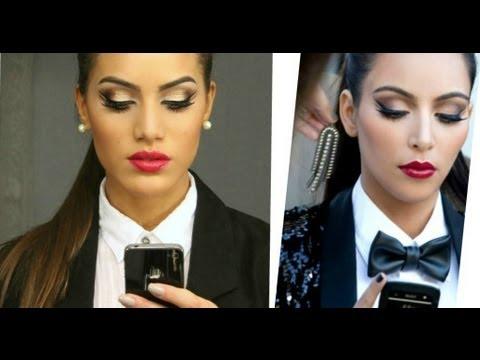 Make Inspirada na Kim Kardashian por Camila Coelho