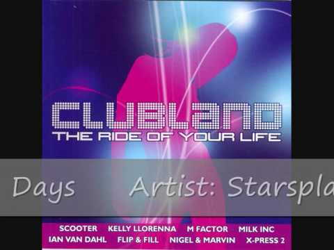 Clubland 2002 Cd 2  Track 9  Starsplash  Wonderful Days