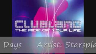 Clubland (2002) Cd 2 - Track 9 - Starsplash - Wonderful Days