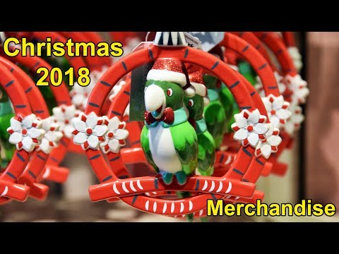Christmas & Holiday Merchandise 2018 Overview at the Magic Kingdom Emporium, Walt Disney World