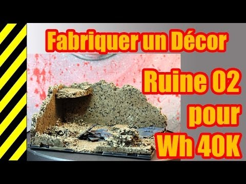 Tuto Fabriquer Un Décor Ruine 02