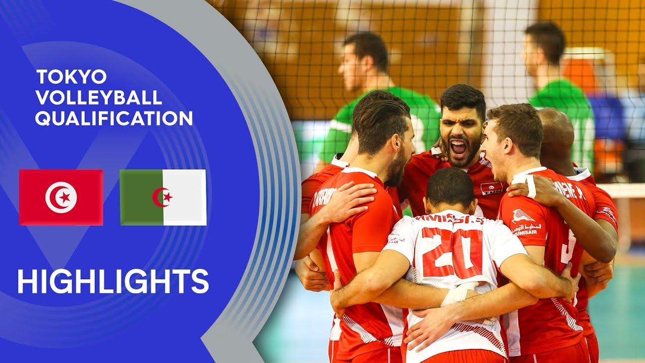Download Tunisia vs. Algeria - Highlights | CAVB Men's Tokyo Volleyball Qualification 2020