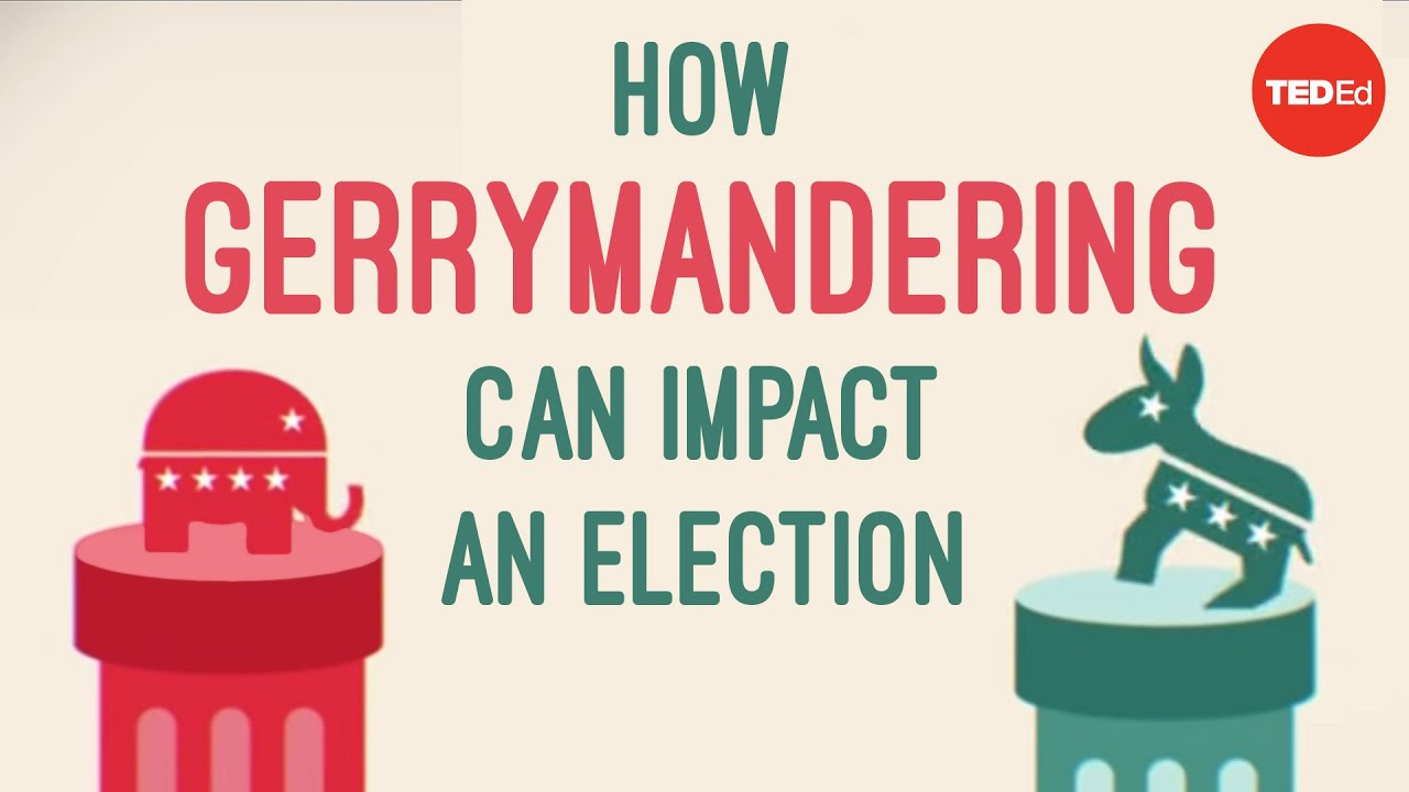 Gerrymandering How drawing jagged lines can impact an election – Gerrymandering Worksheet