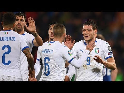 Highlights: Liechtenstein-Italia 0-5 (15 ottobre 2019)
