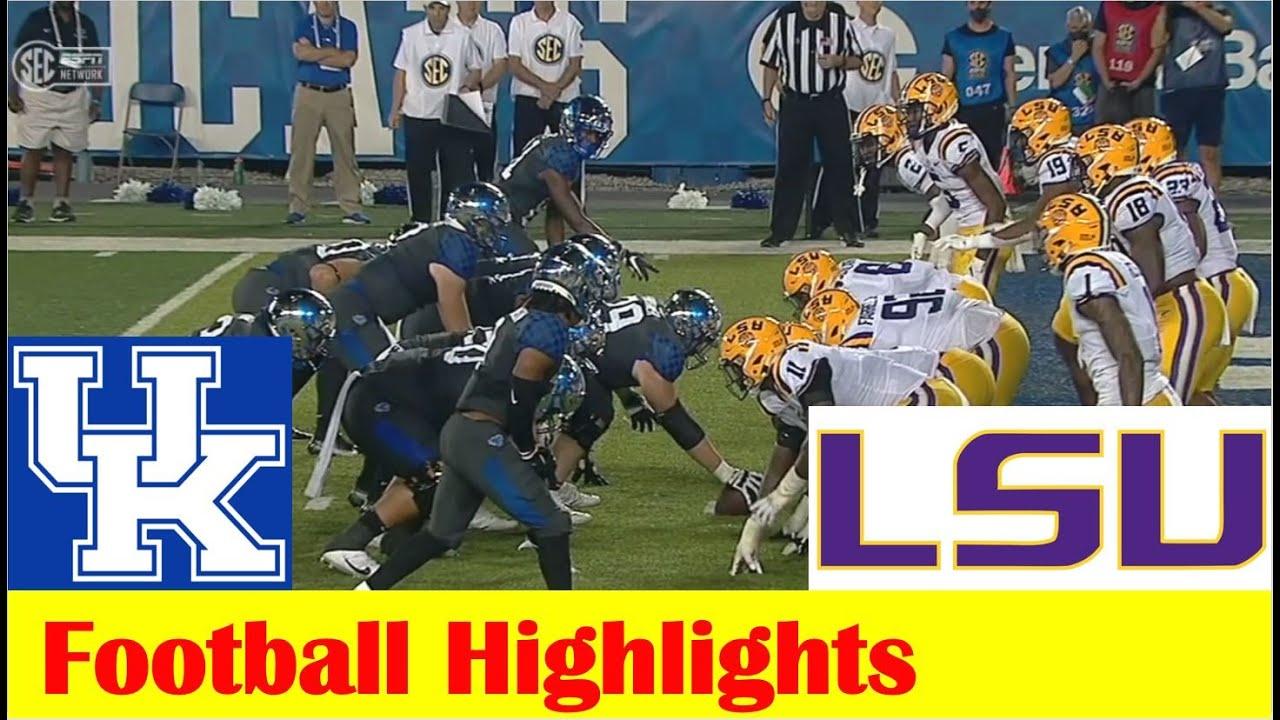 LSU vs. Kentucky - Game Recap - October 9, 2021 - ESPN