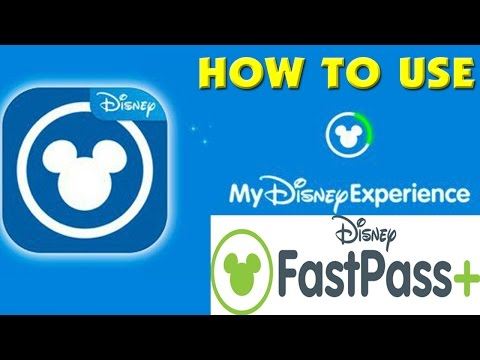 HOW TO USE FASTPASS PLUS on My Disney Experience!