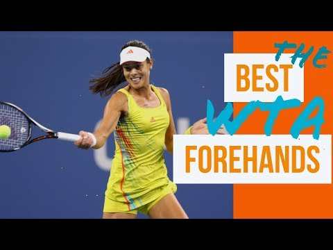 THE BEST WTA FOREHANDS PART 1 Ana Ivanovic, Serena Williams, Venus Williams and Maria Sharapova