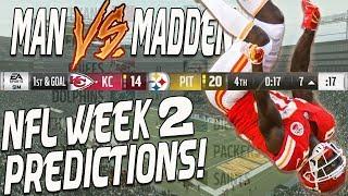 Predicting Every Week 2 NFL Winner...Who