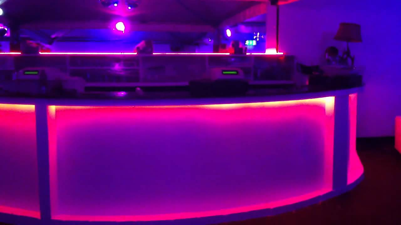 Rgb led strip light in club youtube aloadofball Image collections