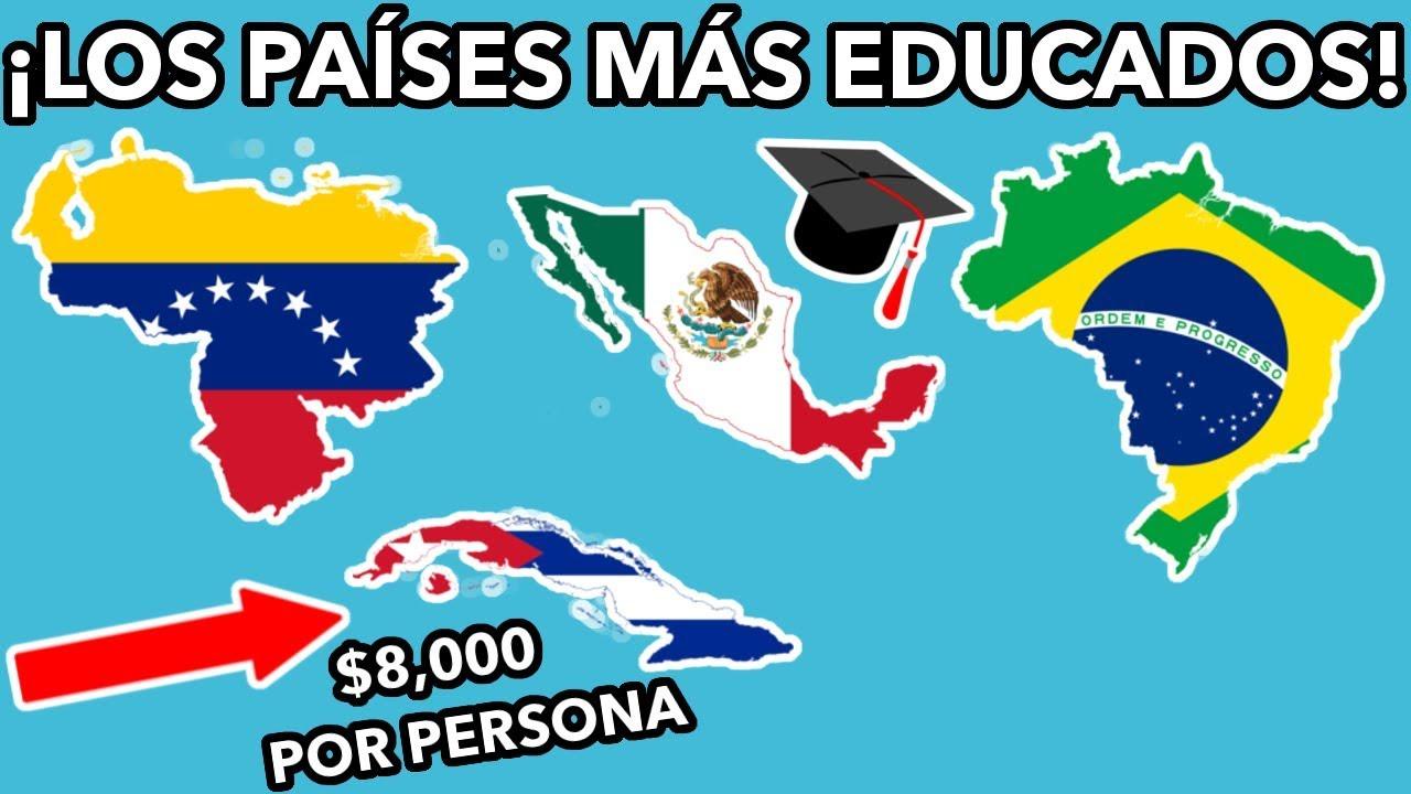 10 PAÍSES CON MAYOR INVERSIÓN EN EDUCACIÓN EN AMÉRICA ...