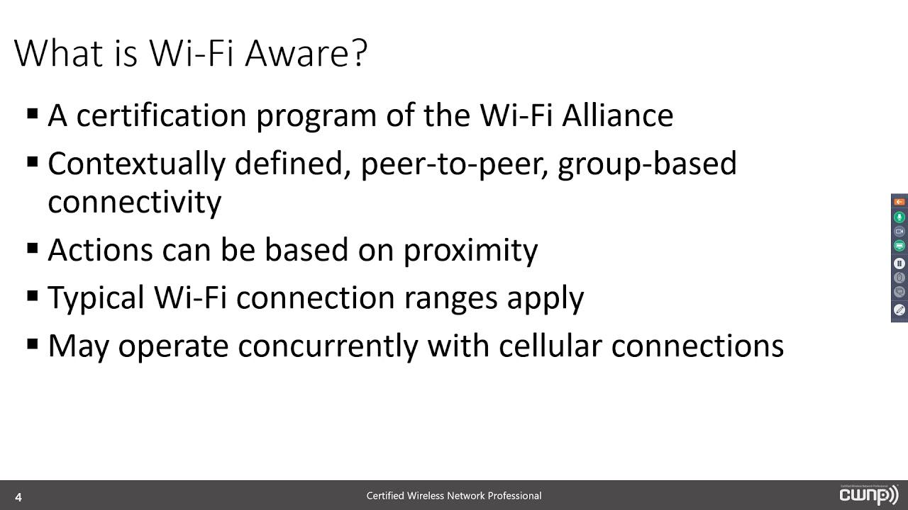 Wi Fi Aware And Neighbor Awareness Networking Nan July 2018