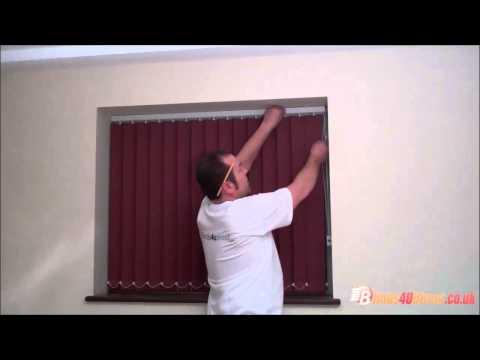 Fixing mis-aligned slats on vertical blinds