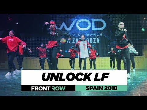 UNLOCK LF | Team Division | FRONTROW | World Of Dance Spain 2018 | #WODSP18